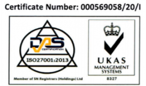 ISO27001 Certificated